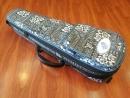 26吋扶桑花圖紋軟盒厚琴袋