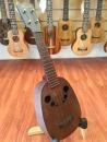 Hawaii 相思木單板「波羅桶」烏克麗麗 獨特葡萄串響孔