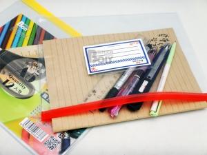 BL-A5 PVC附名片夾鏈袋(12入)
