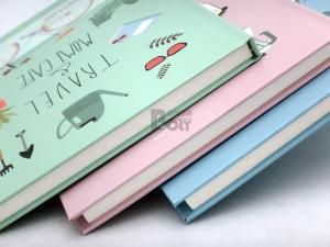 快樂星-A5 硬版固頁筆記本