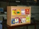 塑鋼圖書櫃