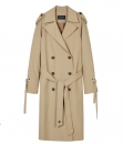 LAWRENCE STRING TRENCH COAT awa086w Beige