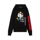 [Hello Kitty] Picture Hoodie(Black)
