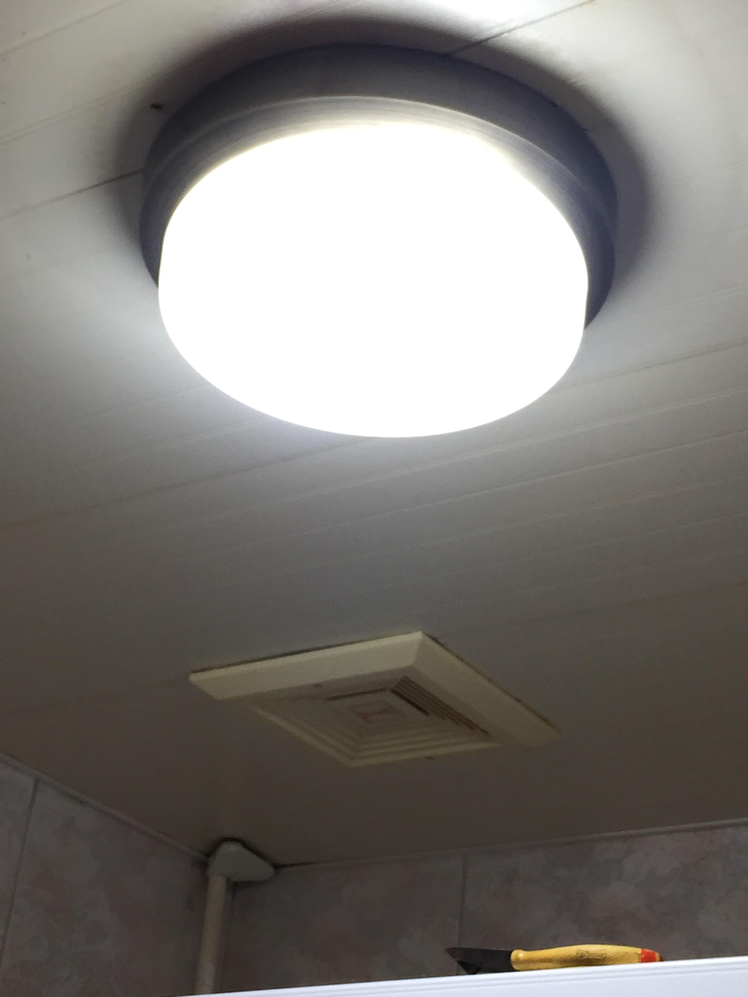 台北水電維修案例-大安區住家浴室燈維修壞新 (13).jpg