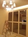 台北水電維修案例-台北市住家安裝水晶燈