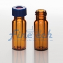 9mm Glass Micro Vials- amber