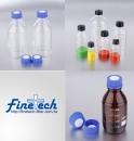 Gaduated Glass Bottles w/Cap
