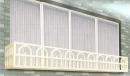 鋁合金穿梭管花台BV-014
