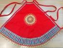 原住民珠繡背心肚兜、豐年祭服飾配件