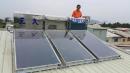 感謝燕巢許先生把握政府最後補助款購置第二台三久太陽能TOP-504型號!