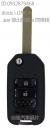 本田汽車晶片遙控折疊型新增配鑰匙遙控備份複製
