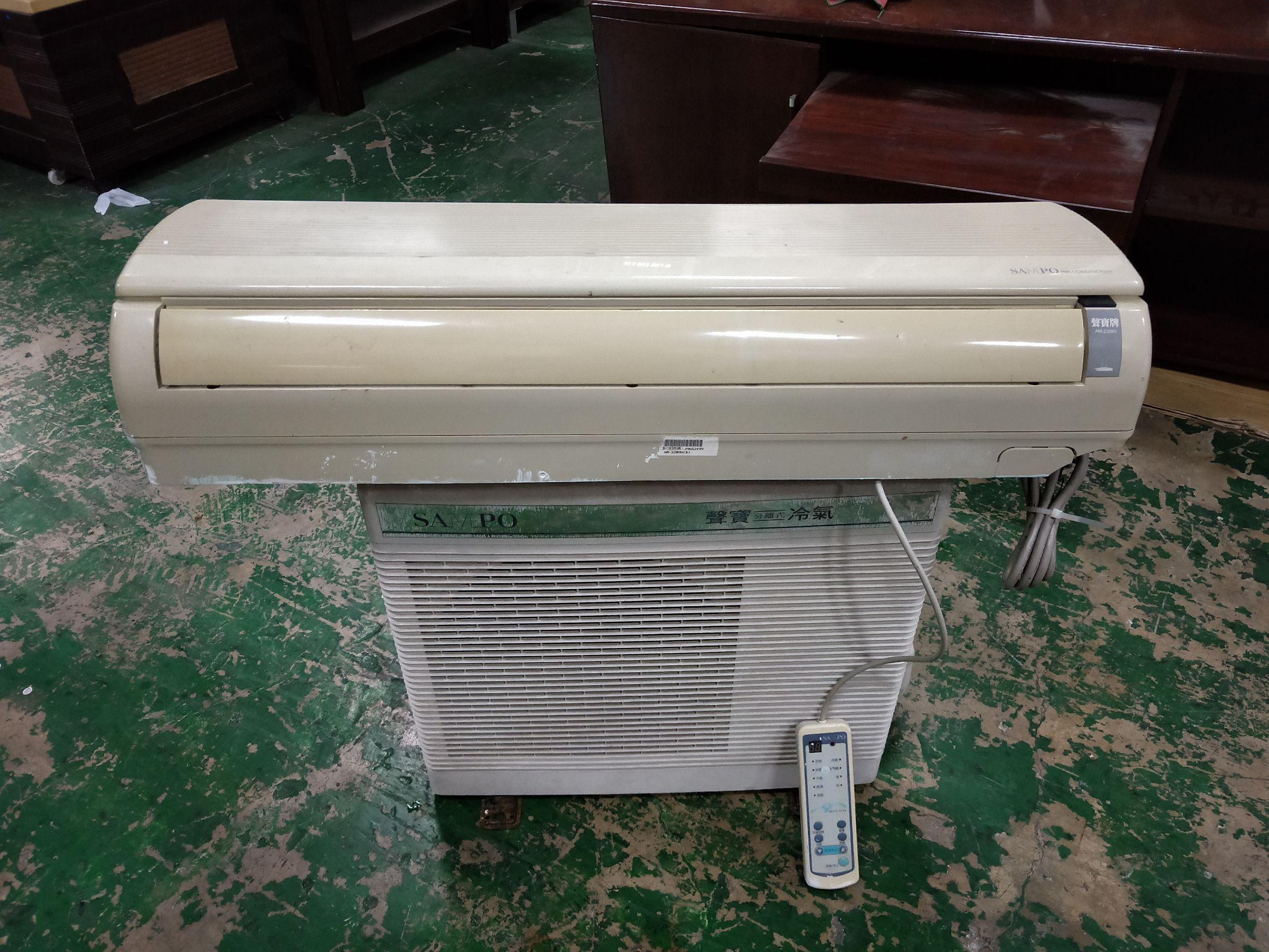 東鼎二手家具 SAMPO10頓一對一分離式冷氣保固三個月* 二手冷氣*中古冷氣*分離式冷氣*
