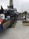 公共工程施工建材吊運