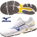 美津濃 男慢跑鞋 WAVE RIDER 20 白X藍 J1GC170329