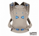 英國 WMM Pao Papoose 3P 3 式寶寶揹帶 - 大地色