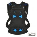 英國 WMM Pao Papoose 3P 3 式寶寶揹帶 - 沉靜黑