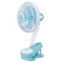 【日本Momonga】Latte萌萌家夾式電風扇-寧靜藍