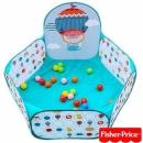 費雪Fisher-Price-球池圍欄(內附25顆海洋球)