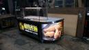不鏽鋼 炸雞餐車