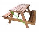 戶外休閒桌椅(4人)