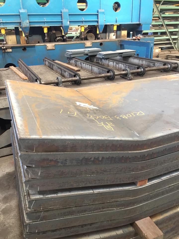 超厚板折彎展示-60mm和40mm黑鐵07