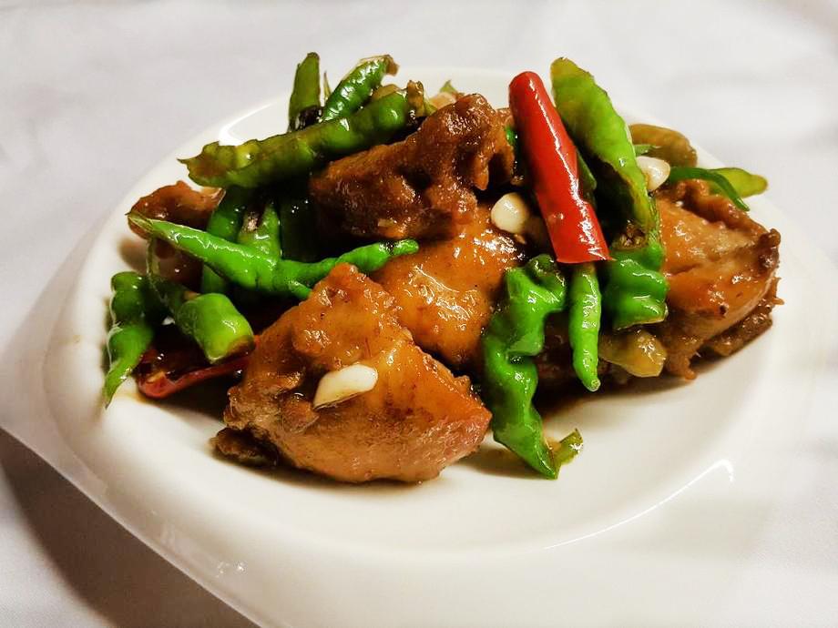 尖椒炒雞丁