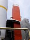 桃園空分塔除鏽 滾刷一道epoxy 紅丹漆