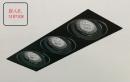 MR 無邊框盒燈/3燈