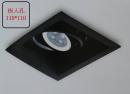 MR 細邊框盒燈/1燈黑