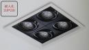 MR 細邊框盒燈/4燈