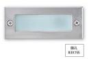 崁8.3*15.5CM LED 4W 階梯壁燈