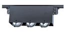 LED MR16 盒燈軌道燈具/三燈