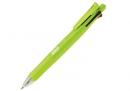 23241079 ZEBRA Clip-on 四色五合一多功能原子筆B4SA1淺綠桿(10支/盒)