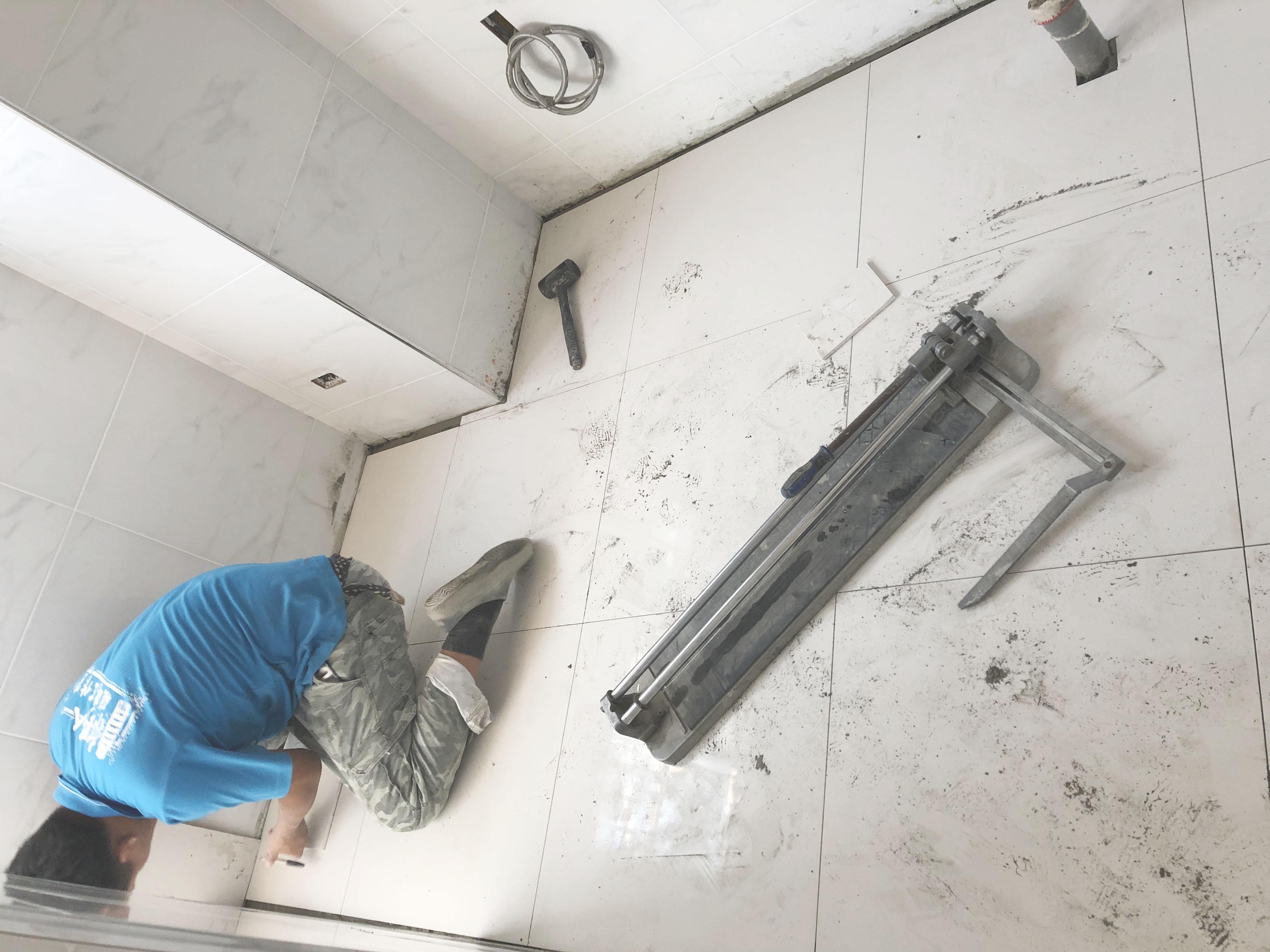 (15)廚房-地磚黏貼