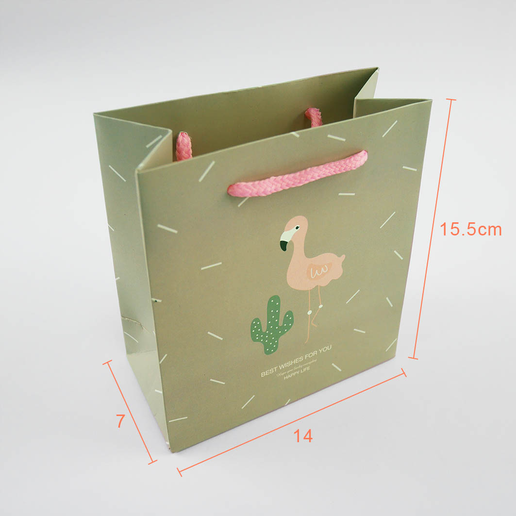 《袋袋相傳》4號棉把防水紙袋-卡通紅鶴1.jpg