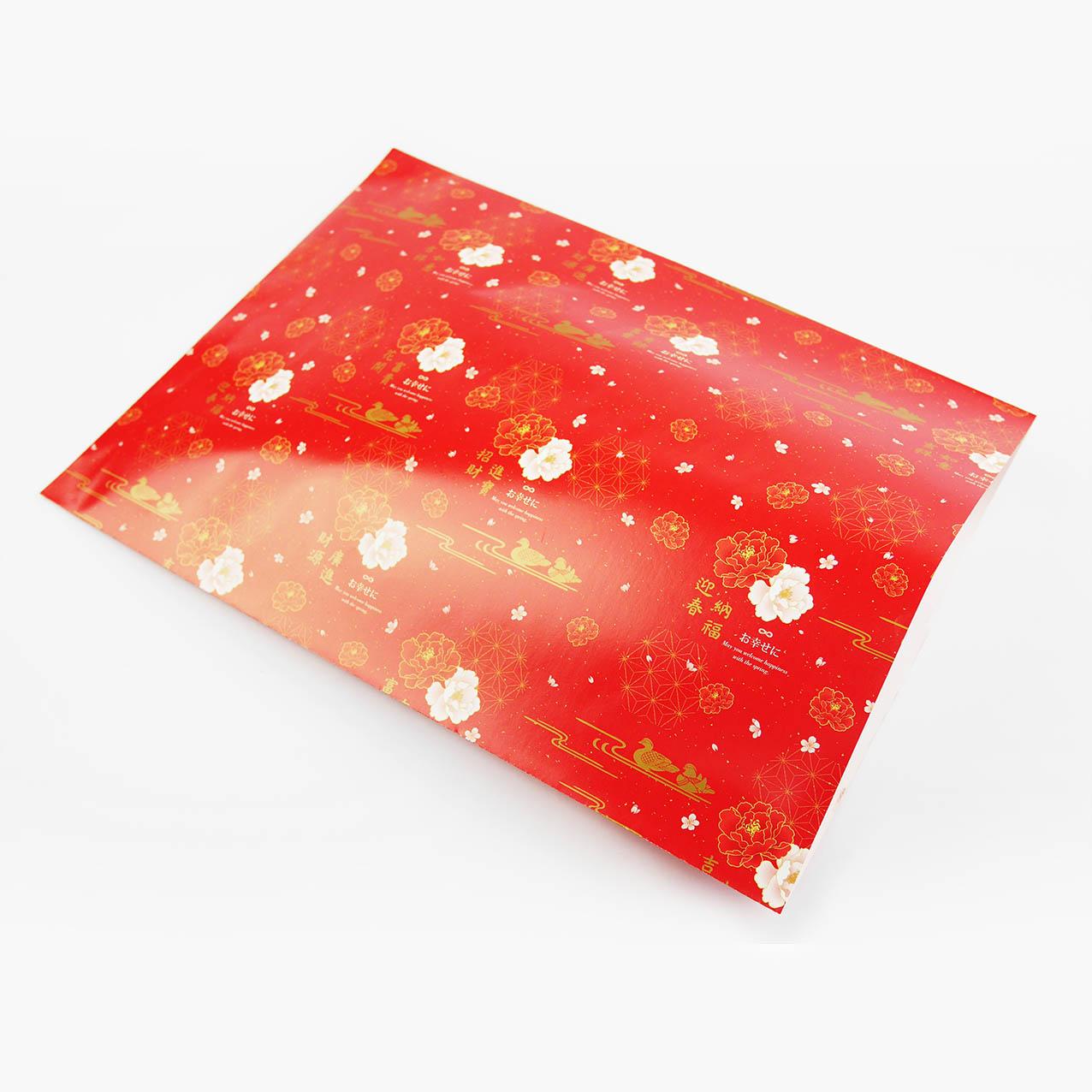 E33 牡丹花香平口紙袋