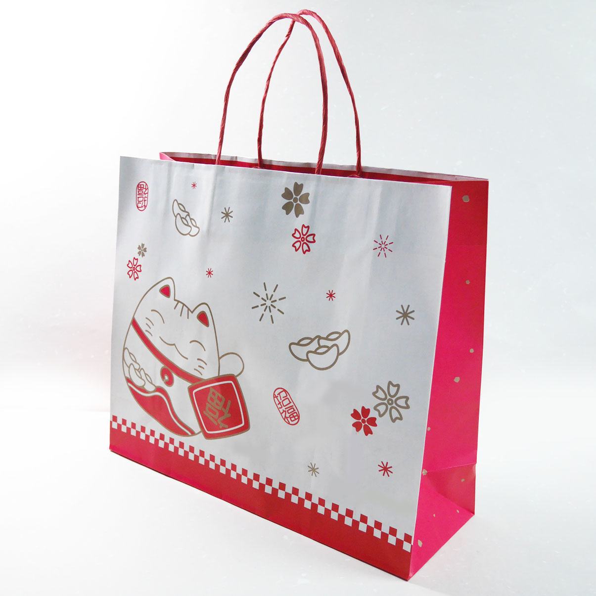 《袋袋相傳》M9 春節紙袋-招財貓3K紙袋.jpg