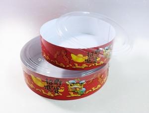 X217 春節透明蓋圓盒-招財進寶