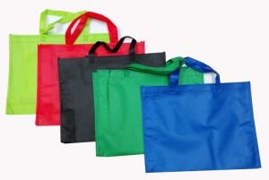 W1 不織布環保手提袋45x35x10