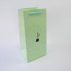 B12 綠色小盆栽紙袋