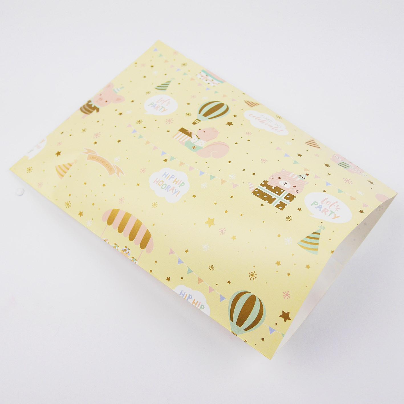 E47 寶貝派對平口紙袋