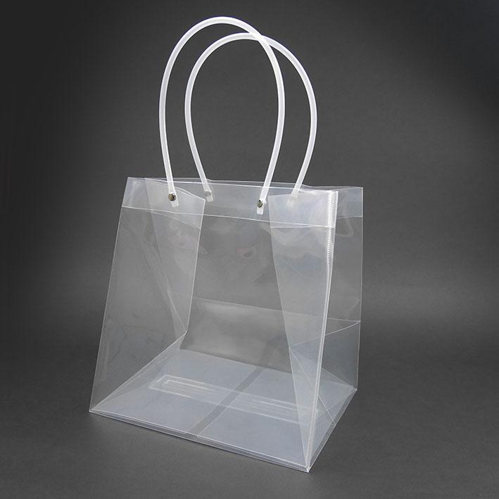 V166 透明寬底袋