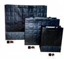 b149 黑色大方格紋紙袋