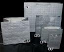 b153 銀色大方格紋紙袋