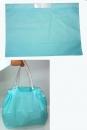 V128 磨砂手提束口袋-淺藍色