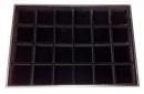 T141 黑絨24格珠寶盤-寶