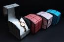 X379 掀蓋式長型星空手錶盒