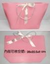 B56 粉紅緞帶提袋-缺貨中