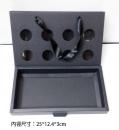 X347 8入無內襯黑卡紙-鏤空提盒
