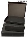 X355 黑瓦楞飛機盒